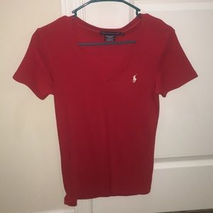 Women's Polo V-Neck - Lg (fits more like a M)